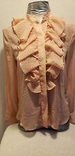 H&M blouse 2 long sleeve polyester