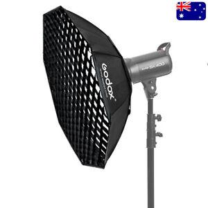 Godox 140cm Octagon Bowens Mount Softbox W/ Grid Octabox For Strobe Flash Light
