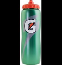 Gatorade Contour 32 oz. Squeeze Water Bottle All Sport Bottle Workout Fitness