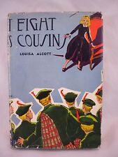 Eight Cousins or The Aunt Hill Louisa M. Alcott 1946 Books Inc. Robert Graef ill