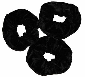 SELECT ANY PAIR OF 3  EXTRA LARGE 16 CM HAIR SCRUNCHIES