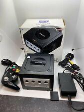 Nintendo GameCube Spiel Konsole Schwarz OVP inkl. Controller u Memory Card #1166