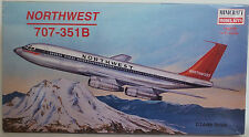 AVIATION : NORTHWEST 707-351-B 1/144 SCALE MODEL KIT MADE BY MINICRAFT
