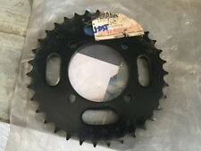 Yamaha LS3 RS100 RS125 RXS RXK Rear Sprocket Driven 35T 183-25435-10-33 /// NOS