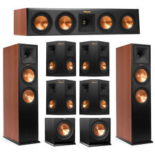 Klipsch 7.2 Cherry System with 2 RP-280F Tower Speakers, 1 RP-440C Center Speake