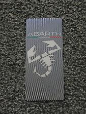 TUNING POGGIAPIEDE ACCIAIO FIAT PANDA GRANDE PUNTO 500 ABARTH EFFETTO CARBONIO