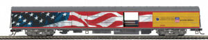 Rare MTH 60088 UNION PACIFIC Heritage SS BAGGAGE CAR #5769 w/Funeral Casket NIB