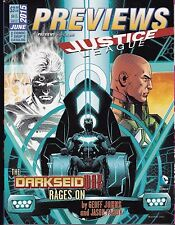 PREVIEWS THE COMIC SHOP'S CATALOG ISSUE 321 JUNE 2015 JUSTICE LEAGUE DARKSEID