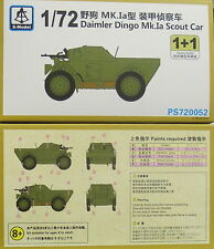 DINGO de Daimler mk.ia SCOUT CAR ,1/72 ,s-model,paquete doble,plástico,NUEVO