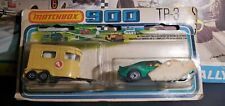 VINTAGE MATCHBOX 75 TP-3 TWO PACKS JAVELIN & PONY TRAILER FACTORY SEALED NEW