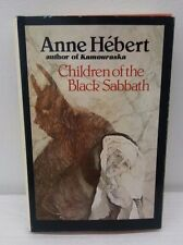 Children of the Black Sabbath by Anne Hebert Rare OOP Original 1977 First
