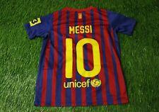BARCELONA BARCA MESSI 2011/2012 FOOTBALL SHIRT JERSEY HOME NIKE ORIGINAL YOUNG