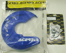 Acerbis X-Brake Front Brake Cover Mounting Combo for Yamaha Blue
