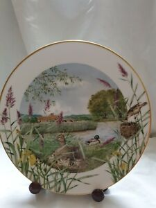 Royal Worcester Peter Barrett July Beside The River Plate