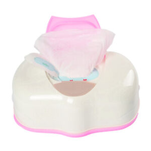 Wet Tissue Box Plastic Automatic Case Real Tissue Case Baby Wipes Press Pop-up D