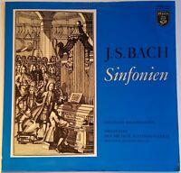 Bach Sinfonien Deutsche Bachsolisten Winschermann Pelca PSR 400001 Stereo