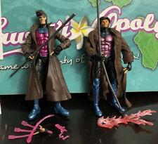 Marvel Legends X-men GAMBIT x2- Hasbro & ToyBiz