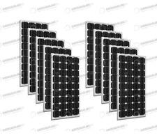 Set 10 x Pannelli Solari Fotovoltaico 300W Europeo 24V tot. 3000W Casa Baita Sta