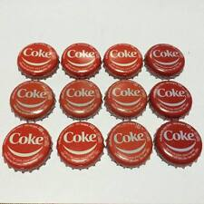 LOT12 BOTTLE CAPS COKE SMILE THAILAND COLLECTIBLE ADVERTISING SODA FREE SHIPPING