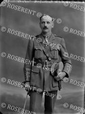 More details for 1915 royal army medical corps - col h l w norrington - glass negative 22 by 16cm
