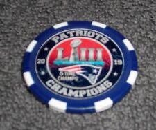 NFL NEW ENGLAND PATRIOTS SOUVENIR COLLECTIBLE POKER CHIP GOLF BALL MARKER