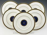 "Royal Doulton England H 5212 STANWYCK 8"" SALAD PLATES Set of 6"