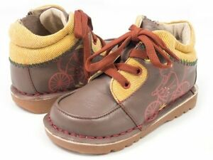 NIB LIVIE & LUCA Shoes Boots Kip Monkey Taupe Brown toddler 7 8 Unisex