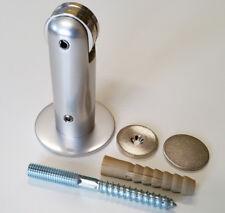 Türfeststeller KWS 1018.31 Alu Silber eloxiert Magnetfeststeller Wandstopper