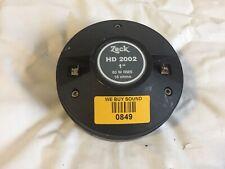 ZECK HD2002 Compression Driver
