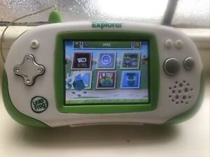 Leap Frog Leapster Explorer Educational Game Console and Ben 10 Ultimate Alien