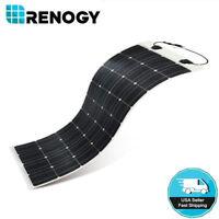 Open Box Renogy 248° Flexible 100 Watt Mono Solar Panel 100W 12V Clearance SALE