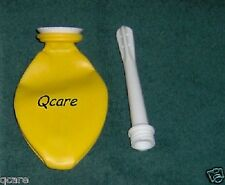 New Compact Douche ,Stay Clean yellow Reusable Travel Size * Bag Folding Enema