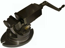 """RDGTools 3"""" 75mm 2 Way Precision Machine Vice Milling Clamping Engineering Tools"""