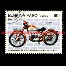 MANET M-90 ( M90 ) 1946 - BURKINA FASO : Timbre Poste Moto