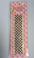 Black Adhesive Clear Rhinestones Cell Phone Wedding DIY Crafts 1GR Jewelry 180pc