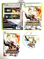 Dynasty Warriors 5 Empires Xbox 360 Completo Retro Mint Brand New PAL/SPA