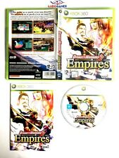 Dynasty Warriors 5 Empires Xbox 360 Completo Retro Mint Brand New PAL/SPA