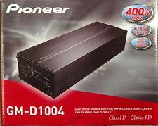 Pioneer GM-D1004 Class D 400 Watts 4-Channel Car Amplifier