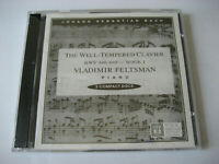 Vladimir Feltsman Piano: The Well-Tempered Clavier - BWV 846-869 - Book I - New