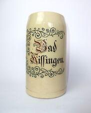 Chope à Bière Pichet Bad Kissingen Merkelbach & Wick Grenzhausen um 1900