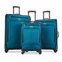 American Tourister Pop Max 3 Piece Luggage Spinner Set - 29/25/21(Teal)