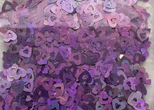 V-Day Holo Heart Shape(Hollow Heart-Light Purple) Glitter-4Nail Gel Art-1tsp-Us