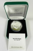 2012 YEAR OF THE DRAGON RAM Silver Proof Coin
