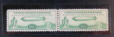 U.S. #C18 1933 50¢ Zeppelin at Chicago Expo Century of Progress Issue (Pair)
