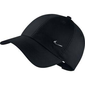 NIKE Basecap unisex Sportswear HT86 METAL SWOOSH Cap schwarz