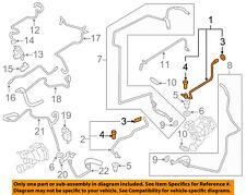 PORSCHE OEM 08-14 Cayenne Turbocharger Turbo-Pressure Line Right 94810708652