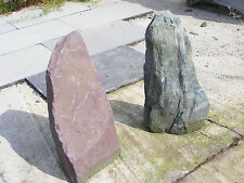 Welsh SLATE Monolith Garden  Outdoor  Various   PLUM OR SLATE . Delivery include