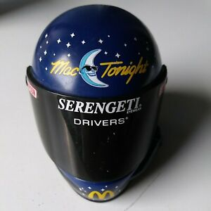 VINTAGE Simpson Mini Racing NASCAR Helmet Bill Elliott Mac Tonight McDonalds