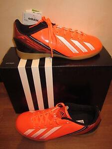 "Adidas Chaussures de Sport F5 "" en J "" Orange Neuf"