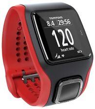TomTom Multi Sport Cardio GPS Watch & partner di formazione grafica-Rosso/Nero